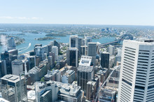 Cityscape Of Sydney From Westfield Tower.