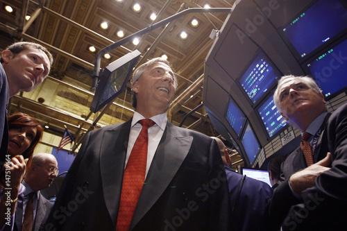 President Nestor Kirchner Of Argentina Tours The New York