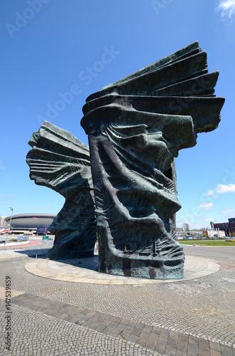 Zdjęcie XXL Pomnik Powstańców Śląskich w Katowicach