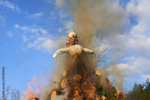 Photo Burning of the Witches at the Witches Night - Walpurgis Night