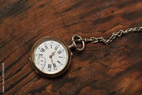 Fotografía  montre à gousset vintage