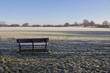 Bench in the Frost