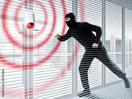 Fotografía  Alarm for stealing a thief