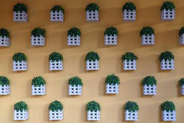 Panel Szklany Skandynawski Flowerpot on the wall