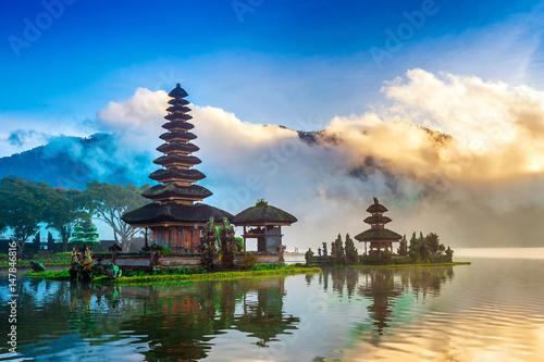 Foto op Aluminium Bali pura ulun danu bratan temple in Bali, indonesia.