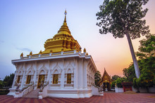 THAILAND-APRIL,26 :Wat Khua Mung Pagoda Temple Location At Saraphi District Chiang Mai .THAILAND APRIL,26 2017