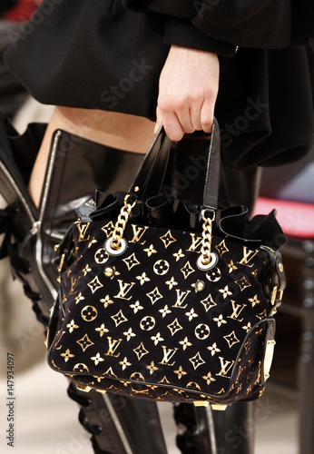 e025480f51d8b A model presents a creation by designer Jacobs for French fashion house Louis  Vuitton at their