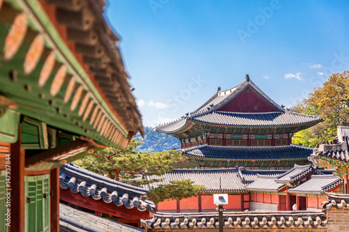 Stampe  Changdeokgung, royal palace in Seoul, Secret garden