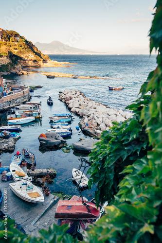 Foto auf AluDibond Neapel Marechiaro, Naples, Italy