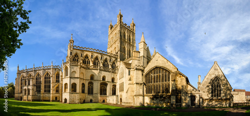 Photo  Panorama of Gloucester Cathedral
