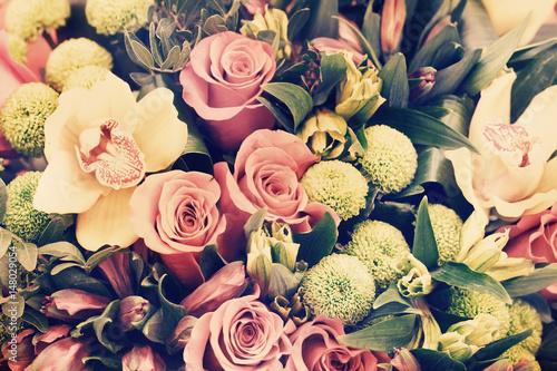 Cuadros en Lienzo Bunch of flowers
