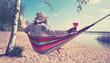 Leinwandbild Motiv Träumen am See, Freizeit genießen