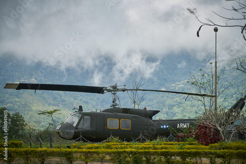 Canvas Prints Helicopter Huey 1