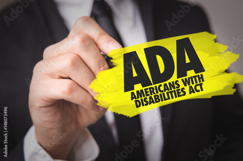 ADA - Americans With Disabilities Act Wallpaper Mural