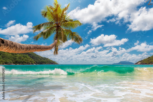 Staande foto Strand Paradise beach.