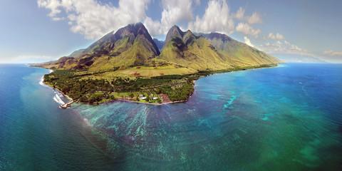 Wyspa Maui - Aerial Panorama - Hawaje
