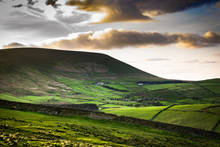 Scenic View On Pendle Hill At ...