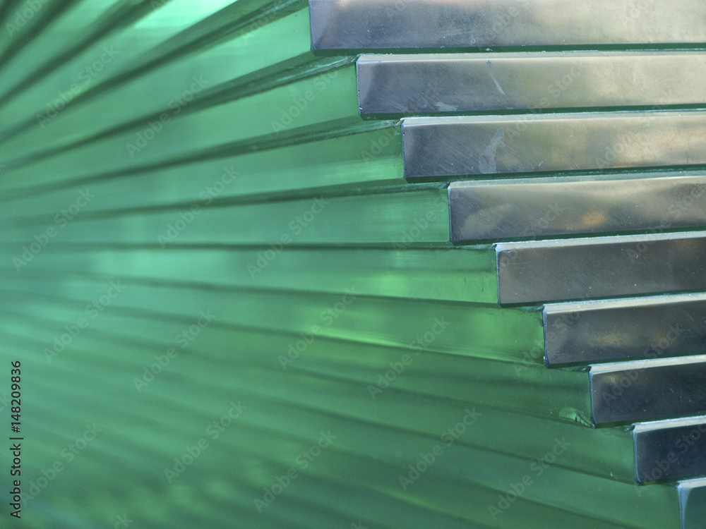 Fototapety, obrazy: Layered cut glass