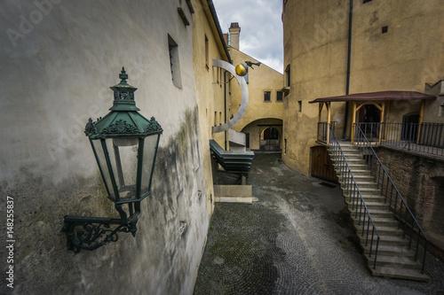 Fotografie, Obraz  Courtyard in Prague Castle
