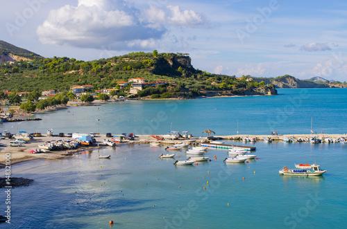 Foto op Plexiglas Caraïben Limni Keriou bay, Zakynthos, Greece