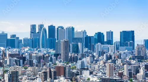 Photo  新宿副都心の高層ビル群