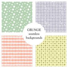 Set Of Seamless Vector Pattern...