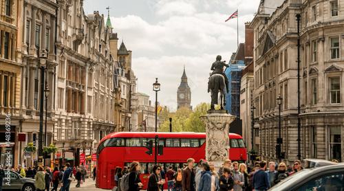 Obraz na plátně London Trafalgar Square