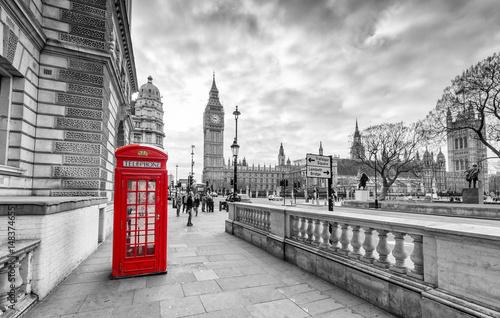Fototapeta London Telephone