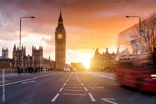 Poster London London Westminster Bridge