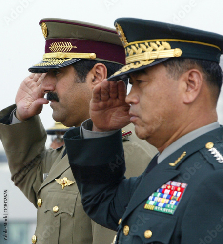 The Chief of Staff of the Qatar Armed Forces inspects South