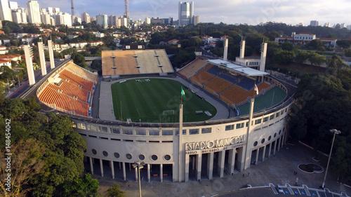 Foto Aérea Estádio Pacaembu Canvas Print