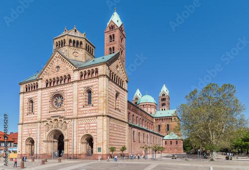 Leinwand Poster Speyerer Dom, Kaiserdom, Dom zu Speyer