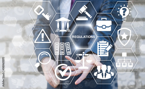Fotografía  Regulations Compliance Rules Law Standard Business Concept