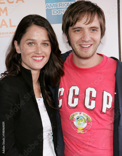 Actors Robin Tunney And Aaron Stanford Pose For The Photographers As Arrive Screening Of