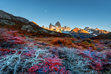 Fitz Roy Mountain Near El Chal...