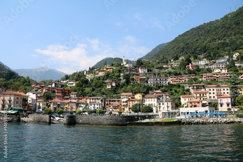 Argegno at Lake Como, Lombardy Italy Wallpaper Mural
