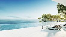 Beach Lounge / 3D Render Interior