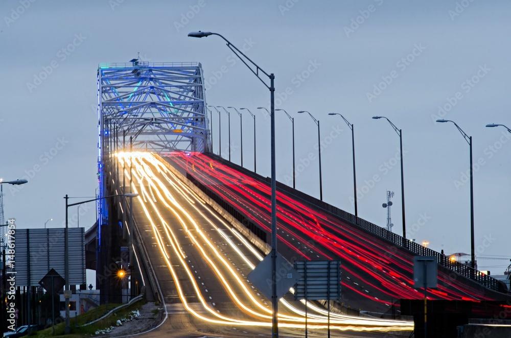 Fotografering  Harbor bridge in Corpus Christi, Texas