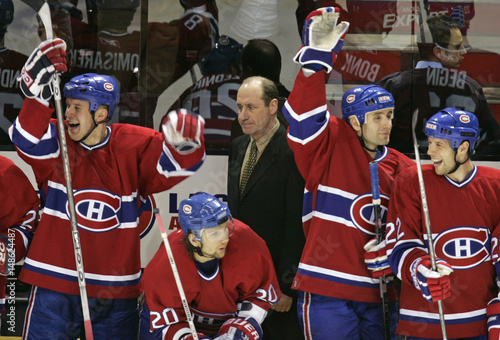 separation shoes 453e1 fbe7c Montreal Canadiens general manager and interim head coach ...