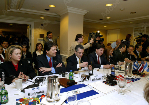 Central American Free Trade Agreement Negotiations In Washington