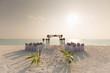 Tropical Beach Wedding Venue Sunset