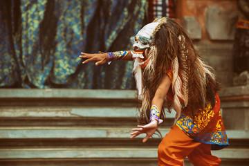 Dancer in demon Rangda trad...
