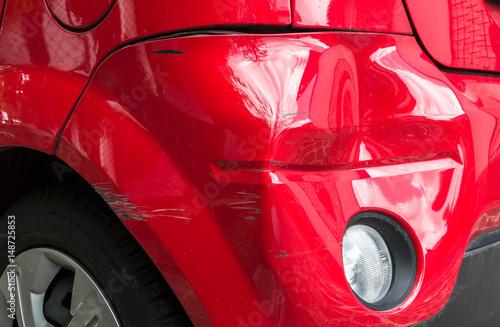Fotografie, Obraz  Car damaged