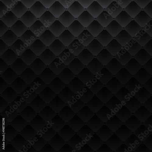 Obraz black square luxury pattern sofa texture background - fototapety do salonu
