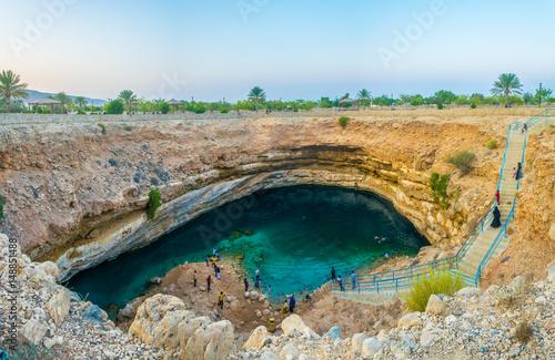 Carta da parati Bimmah sinkhole, Oman