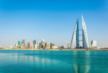 Skyline Of Manama Dominated By...