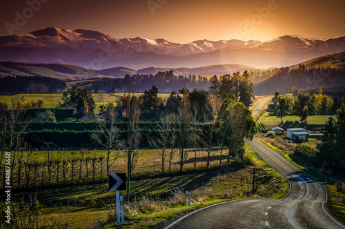Wall Murals New Zealand New Zealand Alps