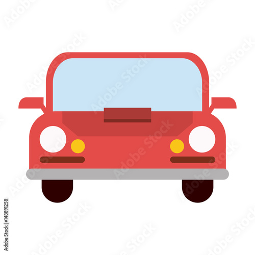 Poster Cars car frontview icon image vector illustration design