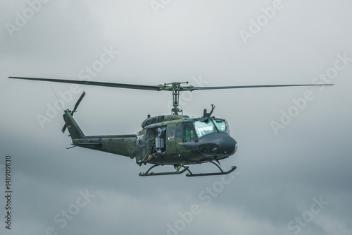 Recess Fitting Helicopter Bundeswehr Helikopter Bell