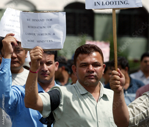 Foreign employment agency members demand the resignations of